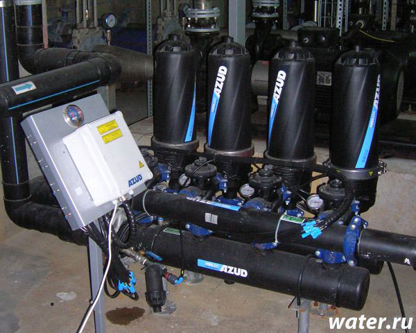 дисковые фильтры для воды
