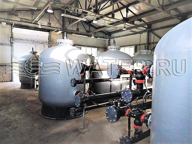 автоматические станции водоочистки